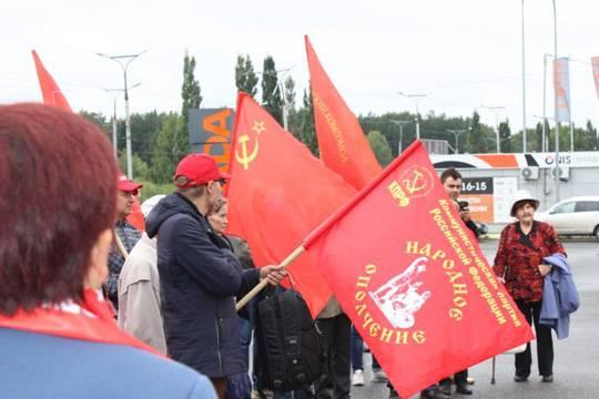 Скучные акции КПРФ в поддержку честных выборов прошли в Марий Эл и Чувашии