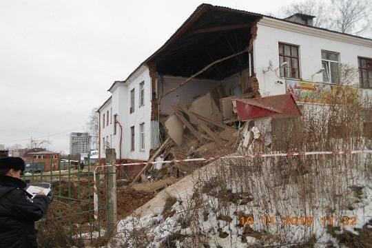 ВЧебоксарах директора организации обвиняют вобрушении здания поулице Гражданской
