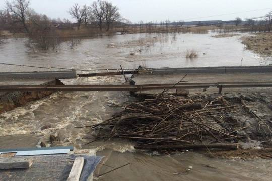 Весенний паводок в 2017-ом году грозит свыше 6 тыс. населенных пунктов