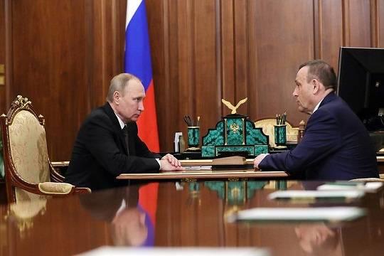 Врио руководителя Республики Марий ЭлАлександр Евстифеев представлен членам руководства региона